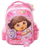 Free shipping Dora school bag primary school students kids child  girls  slimming  dora's backpack 043
