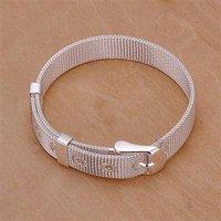 LKNSPCH237 // new promotion 925 silver plated Bracelet, 925 Silver jewelry, Silver Bracelet Wholesale Free shipping