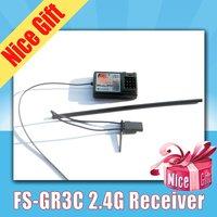 FlySky FS-GR3C GR3C  FS-GR3E GR3E For FS-GT3C GT3C GT2B GT3B GT2 2.4Ghz 3CH Failsafe Receiver
