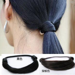 Free shipping Wholesale Wig hair ring Hairclips / Hairpins / Hairwear / HairAccessories wig headband hair rope elastic hair rope(China (Mainland))