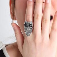 Sunshine jewelry store vintage adjustable owl ring  J115 ($10 free shipping )