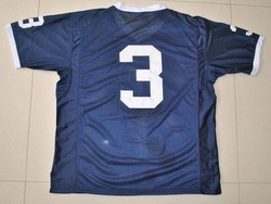 Wholesale-Free Shipping College Jersey Penn State Nittany Lions #3 Dark Blue(China (Mainland))