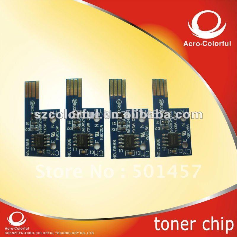 Laser Printer Compatible Smart Color Reset Toner Cartridge Chip refilled for DELL 1320C(China (Mainland))