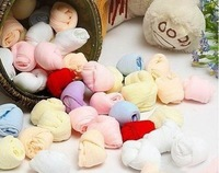 free shipping 60 pairs/lot  baby solid cute socks Children's candy socks infant lovely socks
