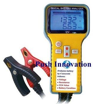 2013 hot items 12V Car diagnostic tool Digital Battery Analyzer Battery Tester for all cars