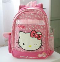Hello kitty decompression school bag owl student school bag backpack beautiful