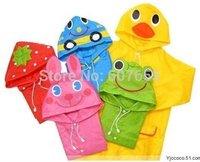 Children's animal cartoon modelling raincoat Free shipping