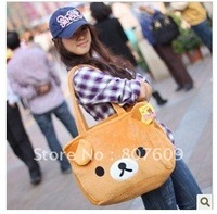 Rilakkuma Bear Big Hand Bag Christmas Gift Novelty Toy shipping hot sale