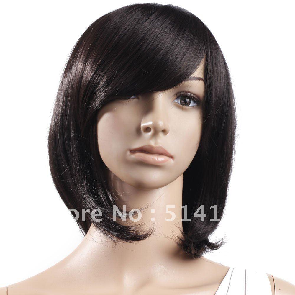 Medium Black Wig 78