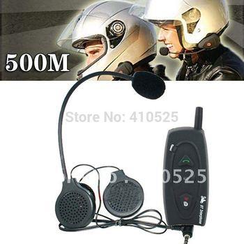 BT Interphone + Handsfree Bluetooth Walkie Talkie for Motorcycle and Skiing Helmet