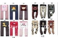 Wholesale - Girls and Boys baby pants toddler underwear tights pp pants pp warmer factory baby pant kids' leggings18pcs