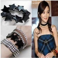 Sunshine jewelry store fashion Avril five-pointed star bracelet  for women s67 (min order $10 mixed order)