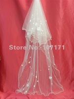 Free Shipping New Long Wedding Bridal Veil