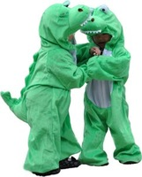 Free Shipping Funny Animal Romper Dinosaur Cosplay Costume Animal Costumes Halloween S,M,L,XL