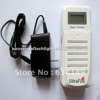 UltraFire WF-200 LCD Double Channel 3.7V Li-ion Battery Charger