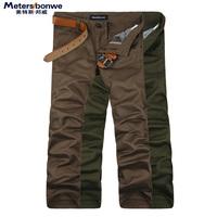 METERS BONWE men's clothing casual pants male skinny pants male trousers straight pants male trousers pants male