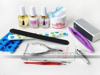 1set - 14 pcs/set Nail Art kit/set - Nail Beauty & Repair tools set - for Manicure & Pedicure - Nail care kit - Free Shipping
