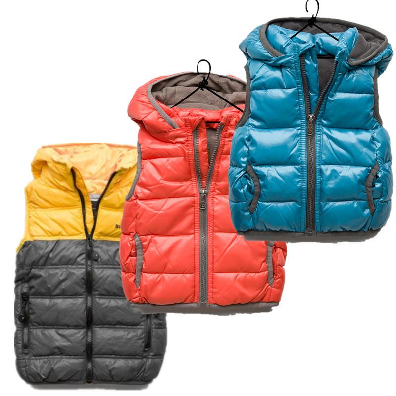 2012 winter vest children's clothing male