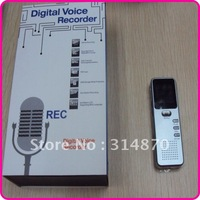 Free shipping Mini Digital Voice Recorder with MP3 Player and Voice Activated Recording 4GB Memory Included