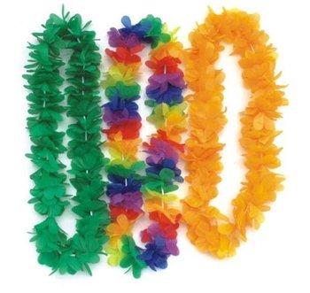 Party/Christmas Supplies Hawaiian Flower Lei Garland/Hawaii Wreath Cheerleading Products Hawaii Necklace 50pcs/lot HH0029