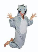 Free Shipping Animal Wolf Romper Suit Performance Clothing Party  Cosplay Costume Halloween Costumes S,M,L,XL