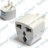 New universal EU UK CN AU to US USA travel charger adapter plug outlet converter 200pcs/lot