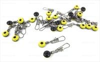 200pcs fishing cross-lock snap/swivels quick change swivel with fishing stopper tackle PJ53  wholesale