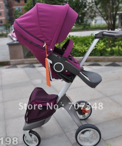 BIG DISCOUNT!New Sale STOKKE XPLORY Limited Edition STROLLER,COLORFUL stroller,in Box(China (Mainland))