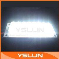 White LED Board 24 Piranha LED Lights Panel Lighting 12V Light Board #080048