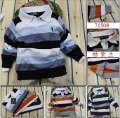 Free shipping,Wholesale 5pcs children sweater, baby boy cotton striped pullovers, boy's knitted sweaters, children's outerwear
