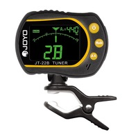 Free Shipping JOYOJT-22B Rotating Clip-on Tuner  for Guitar, Bass, Violin and Ukulele
