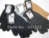 FREE SHIPMENT,Fashion mens winter warm gloves,knitting gloves,free size