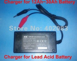5pcs/ lot Sealed Lead Acid Battery Charger 12V Rechargeable 12Ah~30Ah HB-1407 US/ EU/ UK plug available Free shipping(China (Mainland))