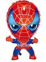 50pcs/lot Spiderman balloon ,Helium balloon,Foil balloon