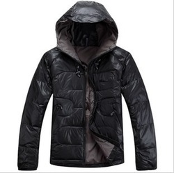 Free Shipping Men's Ultra-Light Down Coat Winter Outerwear Down Jacket For Man High Quality Climbing Mountaineering wear JK-094(China (Mainland))