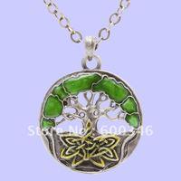 tree of life pendant necklace costume jewelry