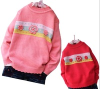 Свитер для девочек 3pcs/lot cartoon design baby boy sweater boy pullover children t shirt boys' children Pullover out sweater