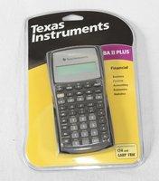 TI BA II plus financial Calculator For CFA, GARP, FRM