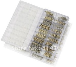 about 270 Pcs Stainless Steel Watch Band Spring Bars & Strap Link Pins 6-23MM Top quality.Low price.(China (Mainland))