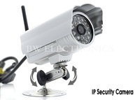 Wireless IP Camera Water-proof IR Network Bullet Camera With WIFI, IR-Cut Filter, Night Vision