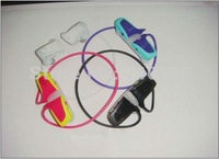 Great  5pcs 2GB Cute Sport Design w262 headset mp3 music player ,Free shipping