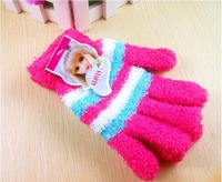 2012 UNISEX NEW WINTER GLOVES MITTENS 5PAIRS/LOT