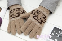 Wholesale 25pair/lot Man Warm Gloves 6colors