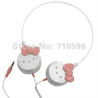 Perfect 20pcs new hello kitty headphone headsets computer headphone/ for iphone ipod mp3 mp4 player headsets
