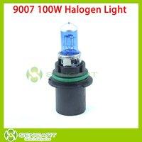 9007 100W 6500K White lights Low beam Fog DRL Halogen lamp Bulbs 12V