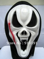 Free ship/EMS,scream terrorist mask,Unisex masquerade mask,Halloween mask,ghost party primp as prank toy for Halloween product.