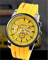 5 geneva watch fashion rubber tyre watchband series a02