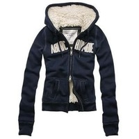 Free shipping 100% cotton woman double thick Hoddies for winter,spring and autumn   New fashion in 2012 winter style