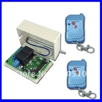 Channels 315/433MHz DC 9V/12V/24V Wireless Remote Switch - Transmitter & Receiver - Momentary Control Mode