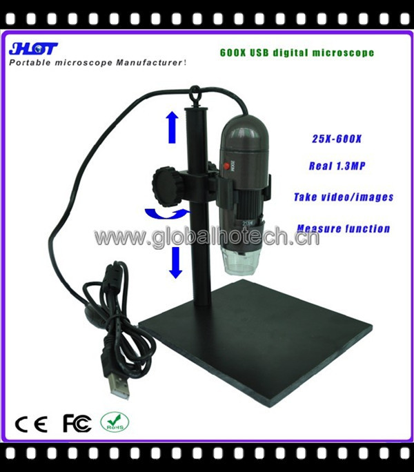 600X USB digital microscope - saving cost by buy from us(factory!)(China (Mainland))